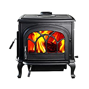 Hi Flame Hf737u Wood Burning Stove Matte Black Amazon