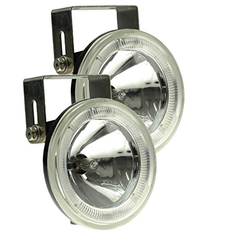 Optilux H71010451 Model 2500 Angel Eye 12V/55W Halogen Driving Lamp Kit (Kit Light Driving 55w)