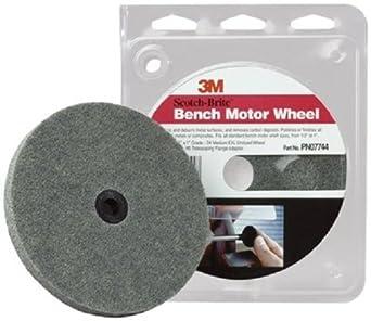 Amazing Scotch Brite Bench Motor Wheel 07744 5 Per Case Abrasive Creativecarmelina Interior Chair Design Creativecarmelinacom