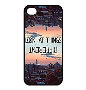 Season.C Funny Quotes For Life look at things different iPhone 6 plus 5.5 Durable Case WANGJING JINDA