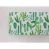 Changing Pad Cover - Watercolor Cactus