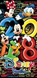 Disney Stack 2018 Beach Towel Mickey Mouse Gang 28x58