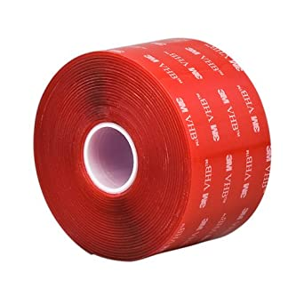 TapeCase 3.75 in Width x 5 yd Length, Converted from 3M VHB Tape 4910  (1 Roll)