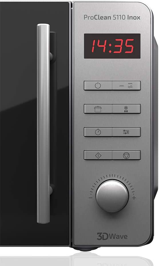 Cecotec Microondas con Grill ProClean 5110 Inox. Capacidad de 20l ...