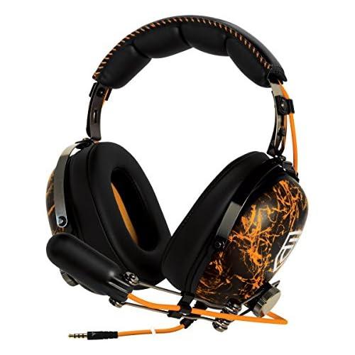 chollos oferta descuentos barato ARCTIC P533 PENTA Auriculares estéreo para juegos con sonido de alta fidelidad y micrófono jirafa compatible con PC portátil todo tipo de smartphones tablets y dispositivos con clavija de 3 5 mm