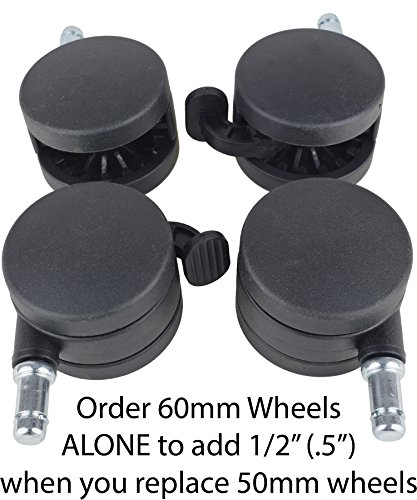 Exercise Ball Chair Upgrade Wheels product image