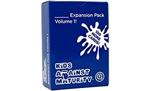 Kids Against Maturity: Card Game for Kids and Humanity, Super Fun Hilarious for Family Party Game Night, Expansion Pack #1 (Core Game Sold Separately)