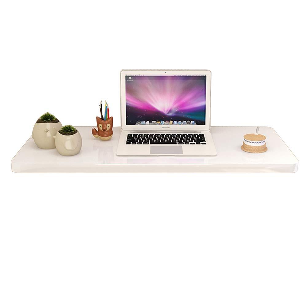 WNQ Mesa De Comedor De Mesa Caducifolia Mesa De Despacho Abatible Plegable Escritorio Convertible Blanco A+ (Tamaño : 70  40cm)