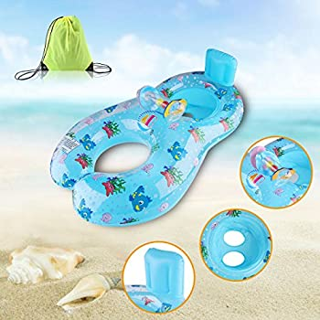 Amazon Com Mommy And Baby Inflatable Baby Pool Float