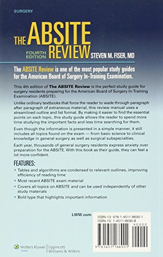 The ABSITE Review (American Board of Surgery In-Training Examination)