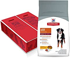 Hill's Science Diet Adult Large Breed, Chicken & Barley Recipe Dry Dog Food, 35 lb Bag