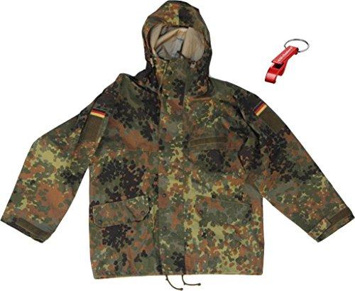 Original BW Bundeswehr Nässeschutzjacke Originalware ! + AOS-Outdoor® Flaschenöffner