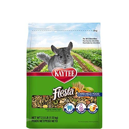 Kaytee Fiesta Chinchilla Food, 2.5-lb bag (Food Chinchilla Kaytee)