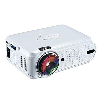 WWK Proyector LED, HD Proyector portátil HD Proyección de Gran ...