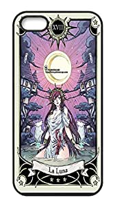 Tarot Card the Moon Hard Case Cover Back Skin Protector For Iphone 5&5S