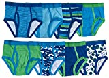 Trimfit Boys 100% Dinosaur Sports Camo Briefs 8-Pack Blue Multi Color S (4-6)