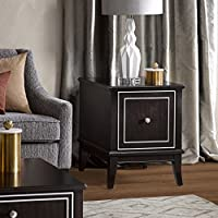 Madison Park Signature Everleigh End Table Ebony See below