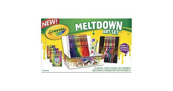 Amazon.com: Juego Crayola de arte Meltdown: Toys & Games