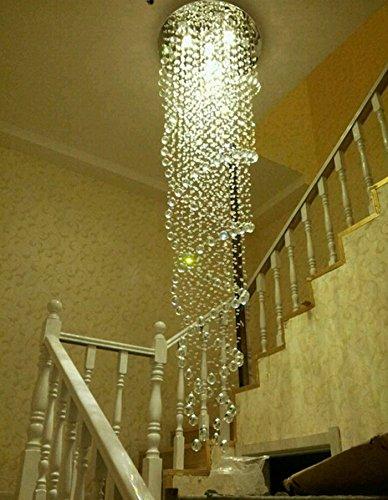 Spiral Crystal Pendant Light