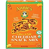 Annie's Homegrown Cheddar Organic Snack Mix Bunnies Cheddar 9 Ounce (Pack of