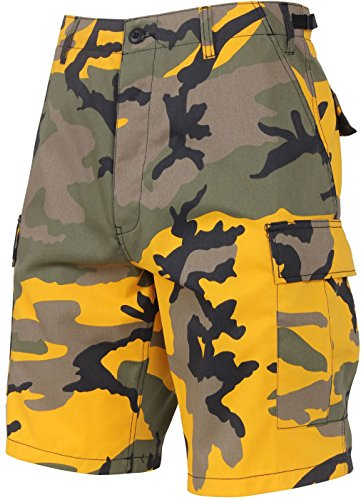 - Tactical BDU Shorts Military Camo Cargo Shorts Army Fatigues Camouflage Uniform