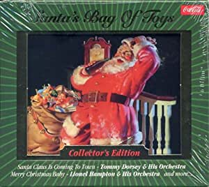 Coca-Cola Presents: SANTA'S BAG OF TOYS Big Band Christmas Holiday Compilation CD *Collector's Edition*