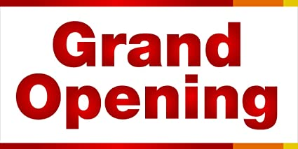 amazon com grand opening retail business store sign banner arts