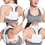 Velpeau Figure 8 Clavicle Brace - Broken Collarbone Sling for Injuries & Fractures, Shoulder Support Strap for Posture Corrector for Men and Women