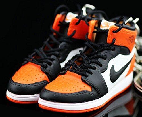 0fe2dc987ecf7 Air Jordan I 1 Retro High Shattered Backboard Orange OG Sneakers ...