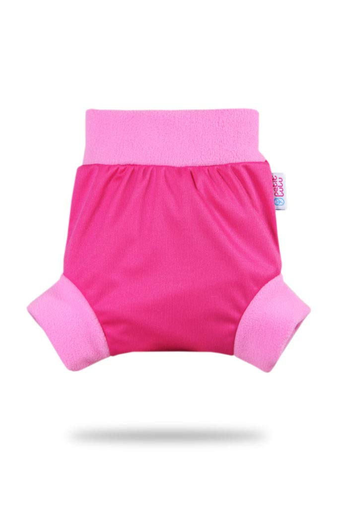 Rainbow Size XL Pink Petit Lulu Pull Up Cloth Nappy Cover Washable Diaper Wrap Made in Europe Reusable Cloth Nappies
