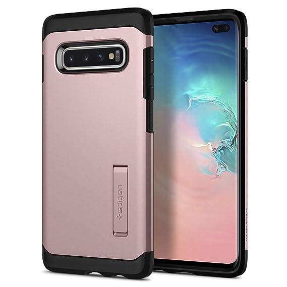 the latest eaaf3 e5d95 Spigen Tough Armor Designed for Samsung Galaxy S10 Plus Case (2019) - Rose  Gold