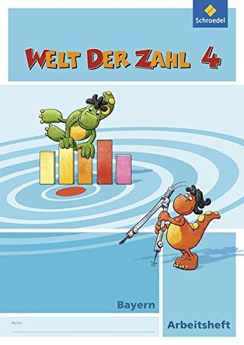 Welt der Zahl - Ausgabe 2014 für Bayern: Arbeitsheft 4 Broschüre – 1. Juni 2016 Schroedel Verlag GmbH 3507047144 Schulbücher 4.Lernjahr