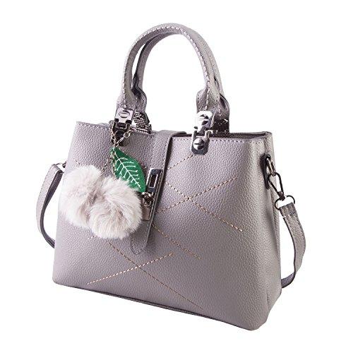 Women Handbags Ladies Tote Bags Zip Closure Purse Bag Tote Vintage Shoulder Bag Designer - High Shopping End Online Brands