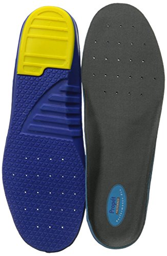 Freedom Synthetic Leather - Propet Performance Pro Orthotic Insole,Grey,Medium (6.5-8.5 6E US Men's/8-10 6E US Women's)