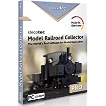 Model Train Software: Stecotec Model Railroad Collector Pro - Inventory Program - Collection Management for Rolling Stock and Accessories - Suitable for Lionel, Athearn, Bachmann, Kato and Other + All Scales HO, N, G, Z etc.