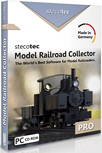 Model Train Software: Stecotec Model Railroad Collector Pro - Inventory Program - Collection Management for Rolling Stock and Accessories - Suitable for Atlas, Athearn, Lionel, LGB etc.