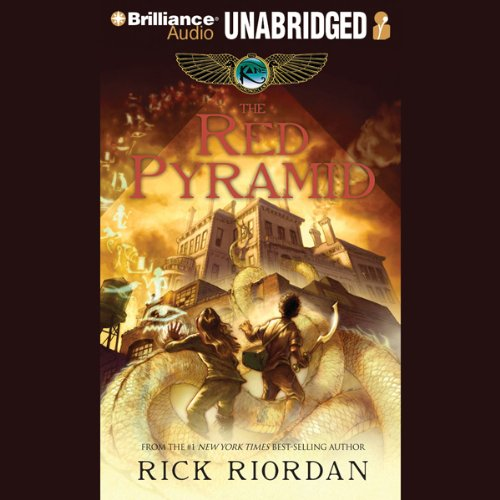 The Red Pyramid: The Kane Chronicles, Book 1 Audiobook [Free Download by Trial] thumbnail