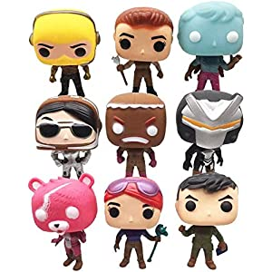 """8Pcs Fortnite Character Toy Game 4.5/"""" Action Figure Playset Model Christmas Gift"""