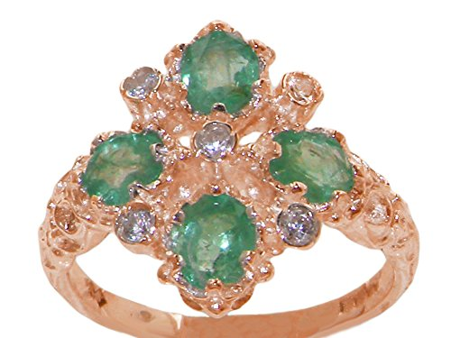 Diamond 14k Gold Estate Ring - 6