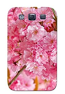 New Premium ACDGCMb212impkX Case Cover For Galaxy S3/ Pink Cherry Blossoms Protective Case Cover
