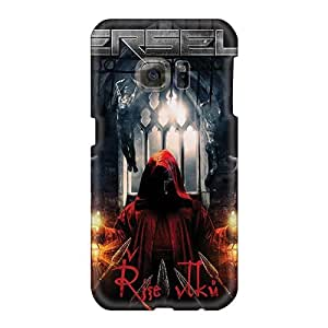 Samsung Galaxy S6 CMl20292JDfh Customized HD Dragonforce Band Pattern Shock Absorbent Hard Cell-phone Cases -JasonPelletier