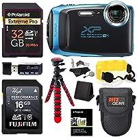 Fujifilm FinePix XP130 - Sky Blue, 32GB SD Memory Card,...