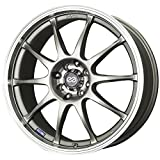 rims for 08 pontiac g5 - 15x6.5 Enkei J10 (Silver w/ Machined Lip) Wheels/Rims 4x100/114.3 (409-565-01SP)