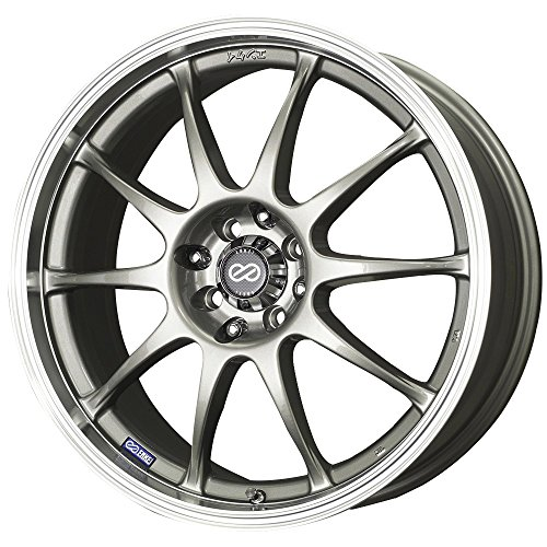 Enkei J10 Silver Machined Wheel (16x7
