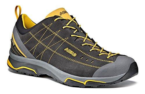 Asolo Nucleon Gv mm Zapatos, Hombre negro (graphite) / amarillo