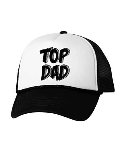 Vizor Top Dad Trucker Hat Best Dad Hat Father s Day Trucker Hat Top Dad  Gifts Black 12bb4d43f6b