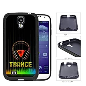 Love Trance Music With Colorful Equalizer Rubber Silicone TPU Cell Phone Case Samsung Galaxy S4 SIV I9500