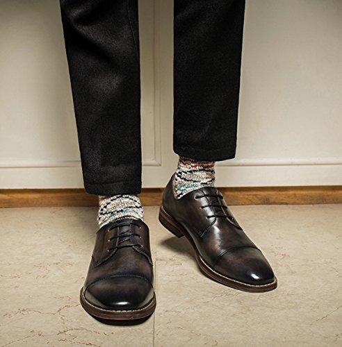 In Sposa Da Scarpe Scarpe Business Da Scarpe Black Scarpe Uomo Stringate Classic Da Oxford Uomo Pelle qCxEfw1