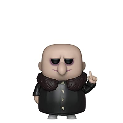 Funko Pop! Movies: Addams Family - Uncle Fester, Multicolor: Toys & Games