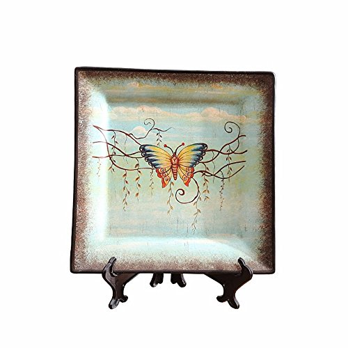 LOSTRYY American Countryside McAllen Ceramics decorative Plate Swing
